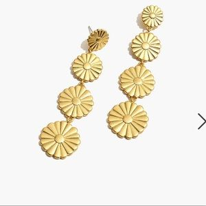 Madewell Delicate Daisy Statement Earring